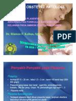Rps138 Slide Kuliah Obstetri Patologi