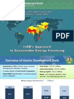 Husain Mugaibel - IsDB's Approach to Sustainable Energy Financing