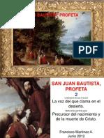 Profeta, San Juan Bautista 2