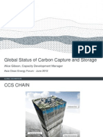 Alice Gibson - Global Status of CCS