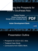 Pradeep Tharakan - Determining the Prospects for CCS in S.E