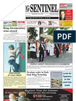 The King Township Sentinel - June 9, 2010
