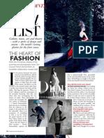 Harper's Bazaar Malaysia - Dec 2011 - When in Rome (Christmas)