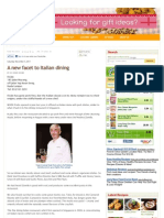 Kuali.com (the Star) - 05112011 - A New Facet to Italian Dining