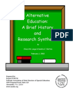 Alternative Edn- History