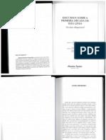 Maquiavel - Discursos sobre a primeira decada de Tito Livio - Livro I - Cap 1-6