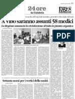 Il Quotidiano della Calabria 08 01 08