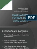 Evaluación formal del lenguaje II