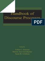 Arthur C. Graesser Et,Al - Handbook of Discourse Processes