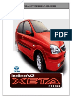 A Study on Perception of Customers Towards Tata Indica V2 PROJECT REPORT MBA MARKETIG