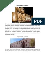 Museos y Galerias de Zacatecas