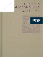Stresses in Plates and Shells.a.C. Ugural