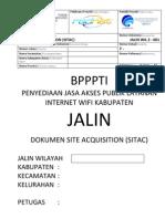 Form Survey Sitac