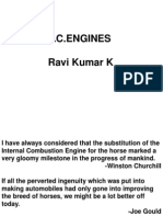 Classification of Internal Combustion Engines