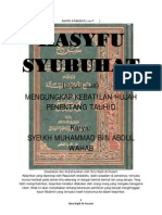 KASYFU SYUBUHAT