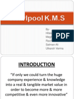 Whirpool KMS Knowledge management systems