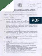 M Tech Regulations and Syllabus