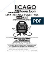 5 in 1 Portable Power Pack Model 96157