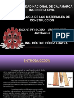 Madera - Propiedades Físicas