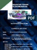 Kuliah Pengantar Teknik Telekomunikasi 1 - 25 Februari 2012