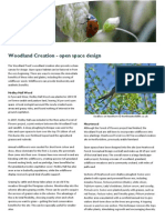 Woodland Creation - Open Space Design