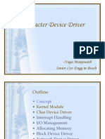 Character Device Driver