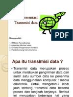 Presentasi Transmisi Data Dio Alex Chris Indra