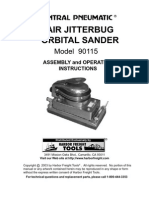 Air Jitterbug Orbital Sander Model 90115