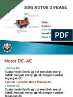 Rewinding Motor 3 Phase