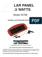 Solar Panel 1-5 Watts Model 44768