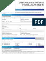 Jems c u Application Form