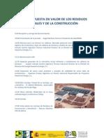 PROGRAMA JORNADA PUESTA EN VALOR DE LOS RESIDUOS VEGETALES Y DE LA CONSTRUCCIÓN