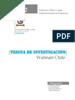 Trabajo investigación Walmart Chile