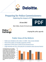 Public Views on Police and Crime Commissioners