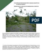 Huracan en Las Costas de Oaxaca