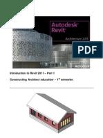 Revit Architecture 2011 Basic Course Final Version