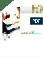 WICE Cloud Based CRM Produktbrschüre