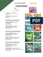 Libros Ingles Curso 2012