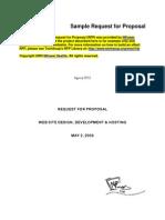 RFP Web Sample