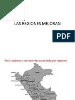 Las Regiones Mejoran