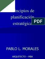 Principios de planificacion estratégica