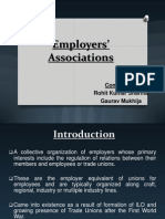 Employer's Associations