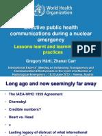 Haertl - Effective public health communications during a nuclear emergency
