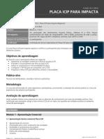 Plano de Curso - Placa ICIP Para Impacta