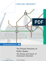 Foldvary_FF - 2009. the Private Provision of Public Goods History e Future of Communal Liberalism _oc-86-Kp-i-foldvary-16-4s-Int