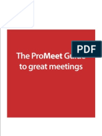 The Promeet Guide to Meeting Facilitation