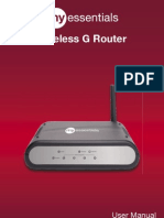 Wireless G Router - Manual