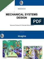 Mechanical System Design 2012