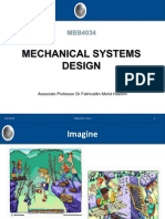 Mechanical System Design 2012