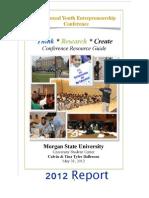 2012 Youth Entrepreneurship Conference
